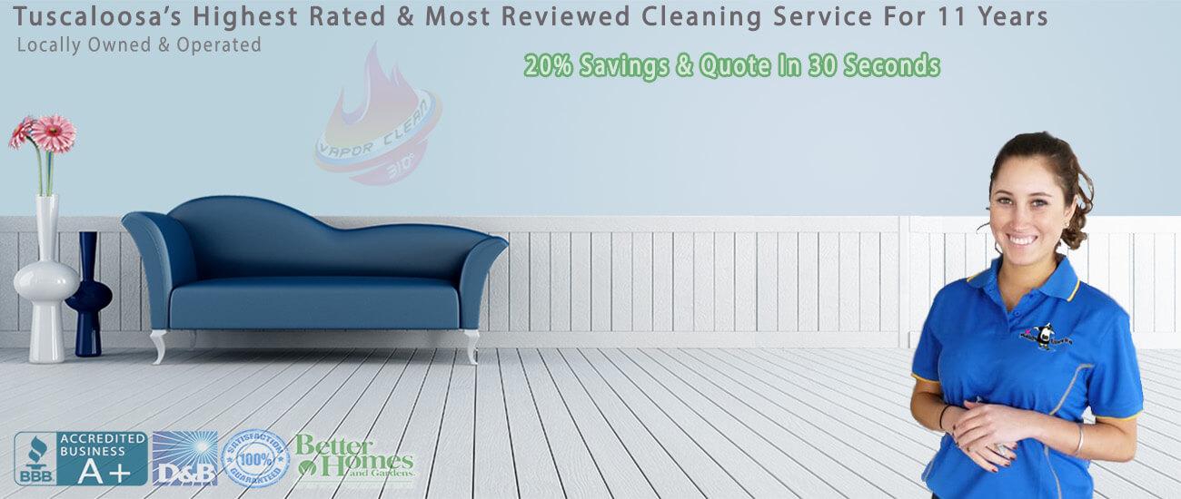 Tuscaloosa maid service with high heat sanitization