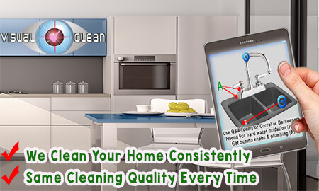 The visual clean system improve our maid service quality control