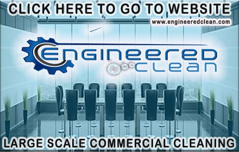 Engineered Clean large scale commercial cleaning service