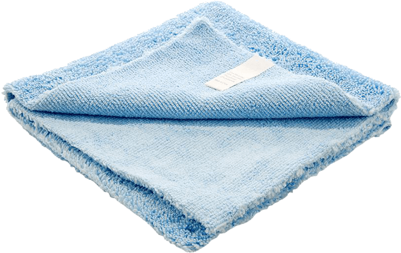 cleaning with towels